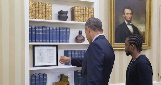 Kendrick Lamar e Barack Obama